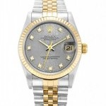 Rolex DATEJUST 68273 CUSTOM DIAMOND UNISEX WATCH