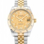 Rolex DATEJUST 18KSS CUSTOM DIAMOND UNISEX WATCH