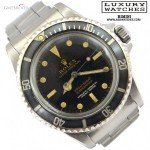 Rolex Submariner 5512 cornino PCG 4 Lines tropical gilt
