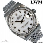 Rolex Datejust 78274 Mothers of Pearls Arabic dia