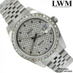 Rolex Datejust 178274 diamonds dial bezel jubile