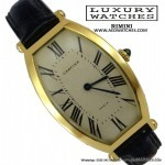 Cartier Tonneau Curved 89590016 yellow gold 1990s