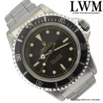 Rolex Submariner 5512 glossy chapter ring exclamation po