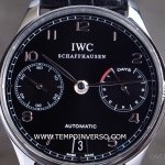 IWC 7-days power reserve Black dial Box  Paper