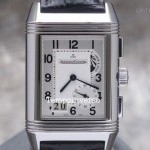 Jaeger-LeCoultre Grande GMT steelAligator Box and Paper