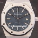 Audemars Piguet Auto 39mm blue dial full set  discontinued