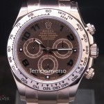 Rolex Cosmograph rose gold chocolate dial full set