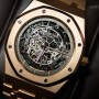 Audemars Piguet royal oak skeleton oro rosa braccialato