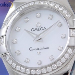 Omega Constellation 27mm Steel and Diamonds  ref 1231527 123.15.27.60.55.003 74143