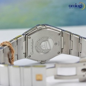 Omega Constellation 27mm Steel and Diamonds  ref 1231527 123.15.27.60.55.003 74149