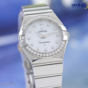 Omega Constellation 27mm Steel and Diamonds  ref 1231527 123.15.27.60.55.003 74145
