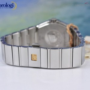 Omega Constellation 27mm Steel and Diamonds  ref 1231527 123.15.27.60.55.003 74155